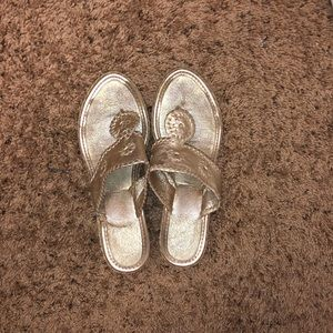 Jack Rogers wedged sandals